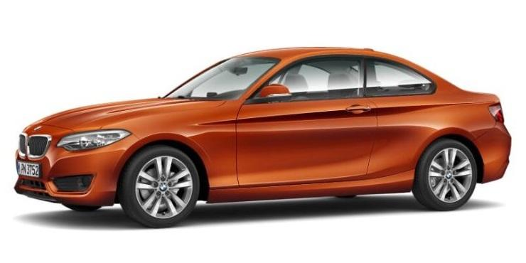 BMW 2 Coupé 218i AT - PZP online