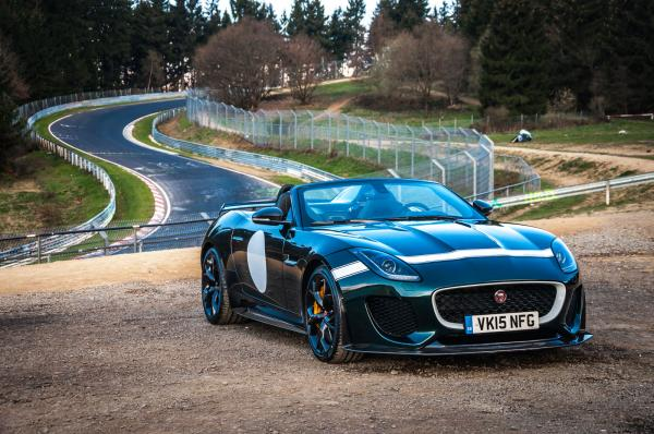 Test Jaguar Project 7: Průlet Evropou