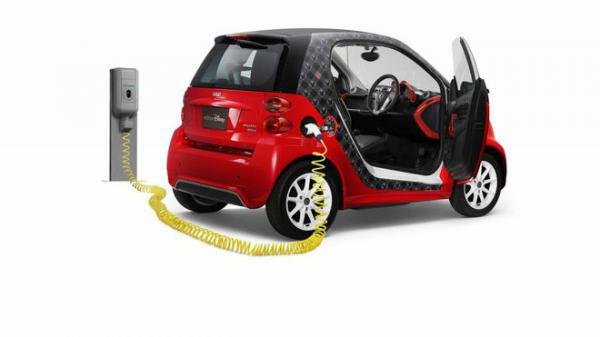 Smart ForTwo Electric Drive Disney Edition - Prcek pro Japonce