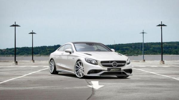 Mercedes-Benz S63 AMG Coupe od Voltage Design nabídne monstrózní výkon..