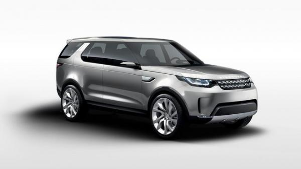 Land Rover Vision Concept – nástupce Freelanderu +VIDEO