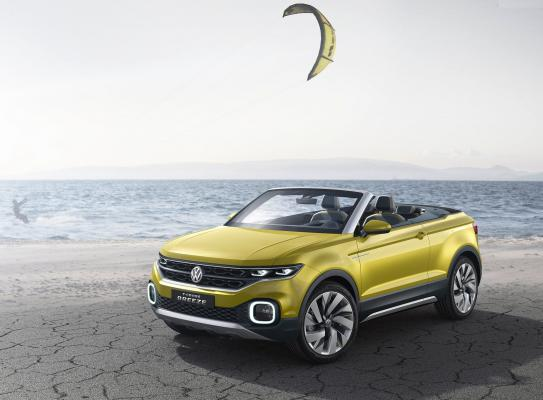 Ženeva 2016: VW T-Cross Breeze je malý crossover bez strechy