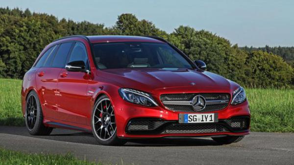 Wimmer RST upravil Mercedes-Benz C63 Estate AMG S