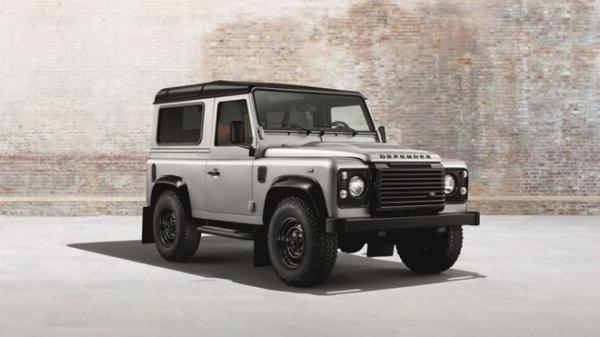 Land Rover Defender Silver Pack a Black Pack
