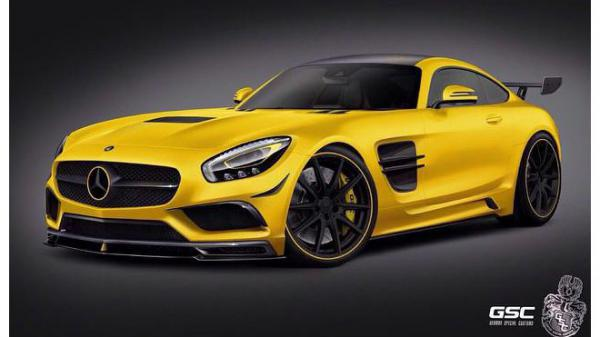 German Special Customs upravili Mercedes-AMG GT