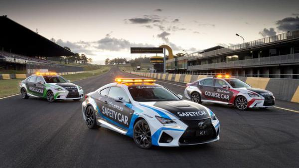 Lexus RC F jako Safety Car