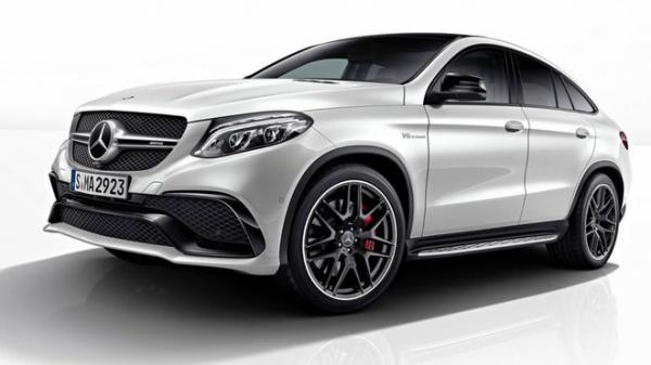 Mercedes-Benz GLE Coupe s paketem Night Package