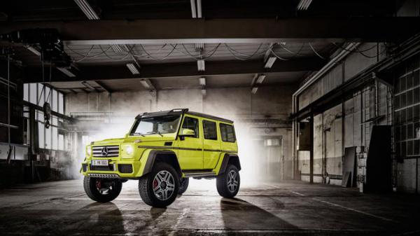 VIDEO a na něm monstrózní Mercedes G 500 4x4²