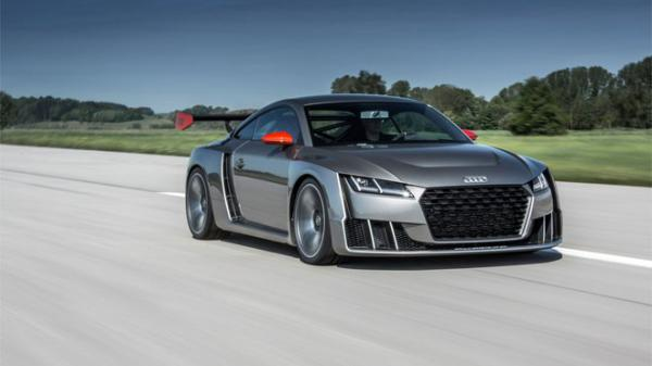 Audi TT Clubsport- VIDEO a nové fotografie