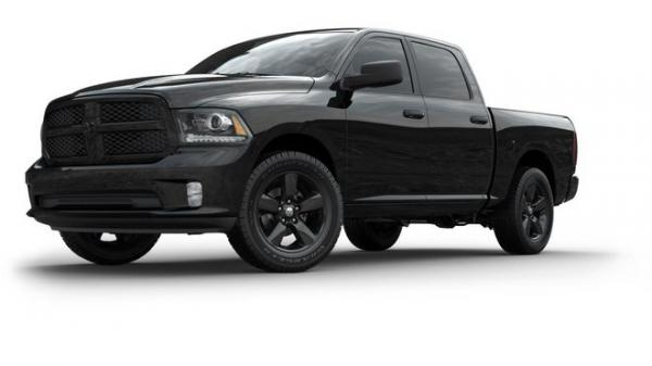 Ram 1500 Black Sport a Ignition Orange Sport