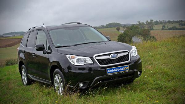 TEST: Subaru Forester 2.0D Executive - Naftový lesník