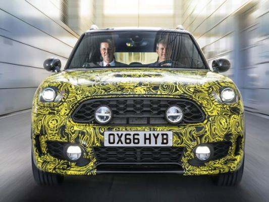 Mini Countryman Hybrid: Nové mini SUV má techniku BMW 225ex