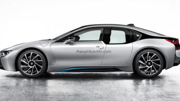 BMW i8 jako sedan od Theophiluse China