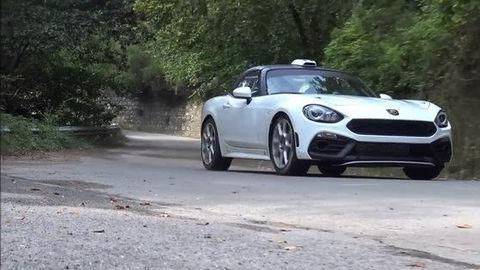 Video: Abarth 124 Spider s motorom z Alfy 4C mieri na rely