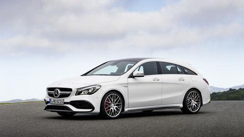 Mercedes CLA a CLA Shooting Brake  zmodernizovali
