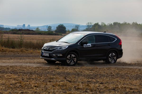 test: Honda CR-V 1,6 DTEC