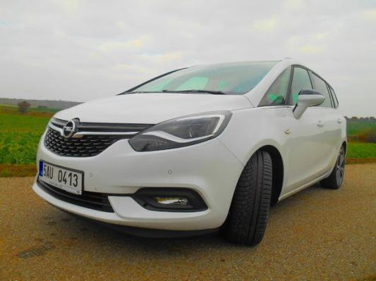 Test: Opel Zafira 2.0 CDTI – alternatíva k SUV