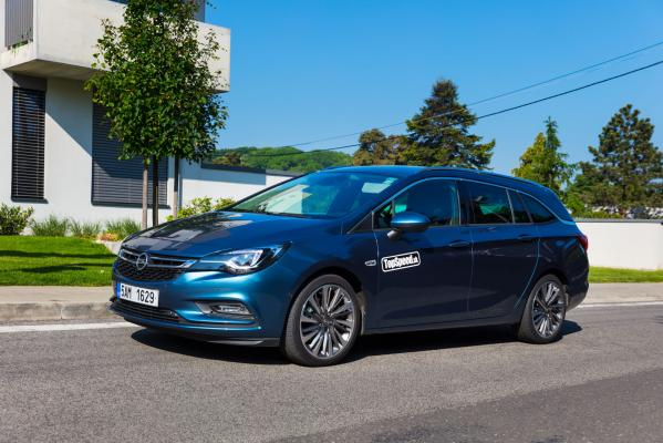 Test: Opel Astra Sports Tourer 1,6 CDTI BiTurbo